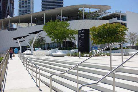 Grimshaw's Miami science museum opens doors
